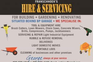 Franschhoek Hire and Servicing