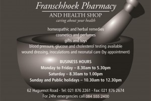 Franschhoek Pharmacy 3