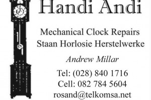 Handi Andi Mechanical Clock Repairs