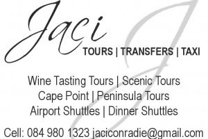 Jaci Tours Transfers and Taxi